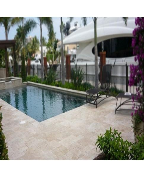 pierre naturelle pour terrasse plage piscine tradition