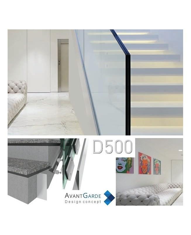 garde corps verre et aluminium d500. Black Bedroom Furniture Sets. Home Design Ideas