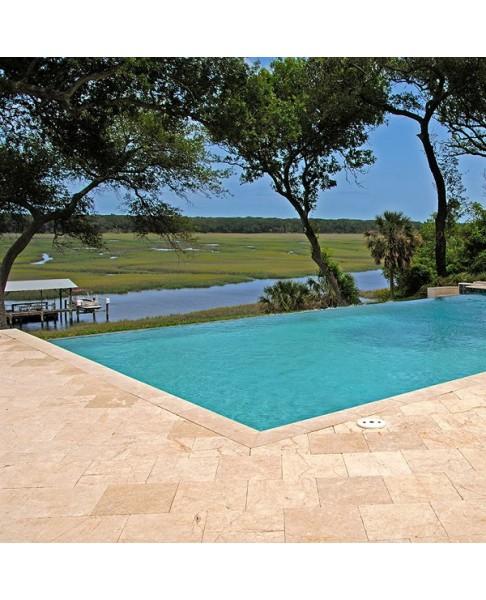 Pierre naturelle pour terrasse plage piscine LIGHT - 123materiaux.com