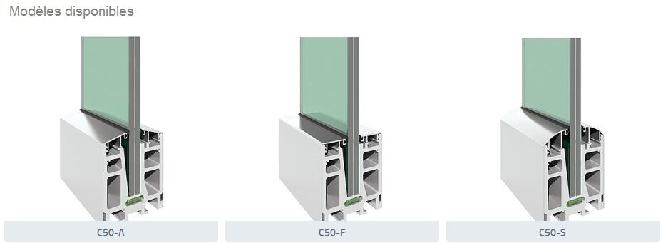 garde corps verre et profil aluminium c500. Black Bedroom Furniture Sets. Home Design Ideas