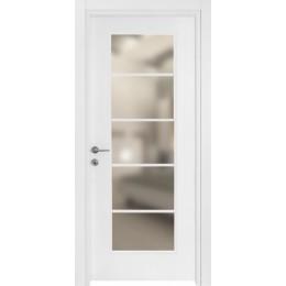Bloc-porte vitré intérieure PRESTIGE en finition blanc