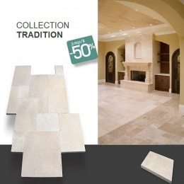Carrelage en pierre naturelle TRADITION